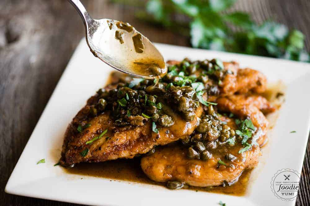 Classic Chicken Piccata Recipe | Self Proclaimed Foodie