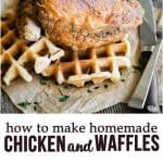 how to make homemade Chicken and Waffles brunch recipe