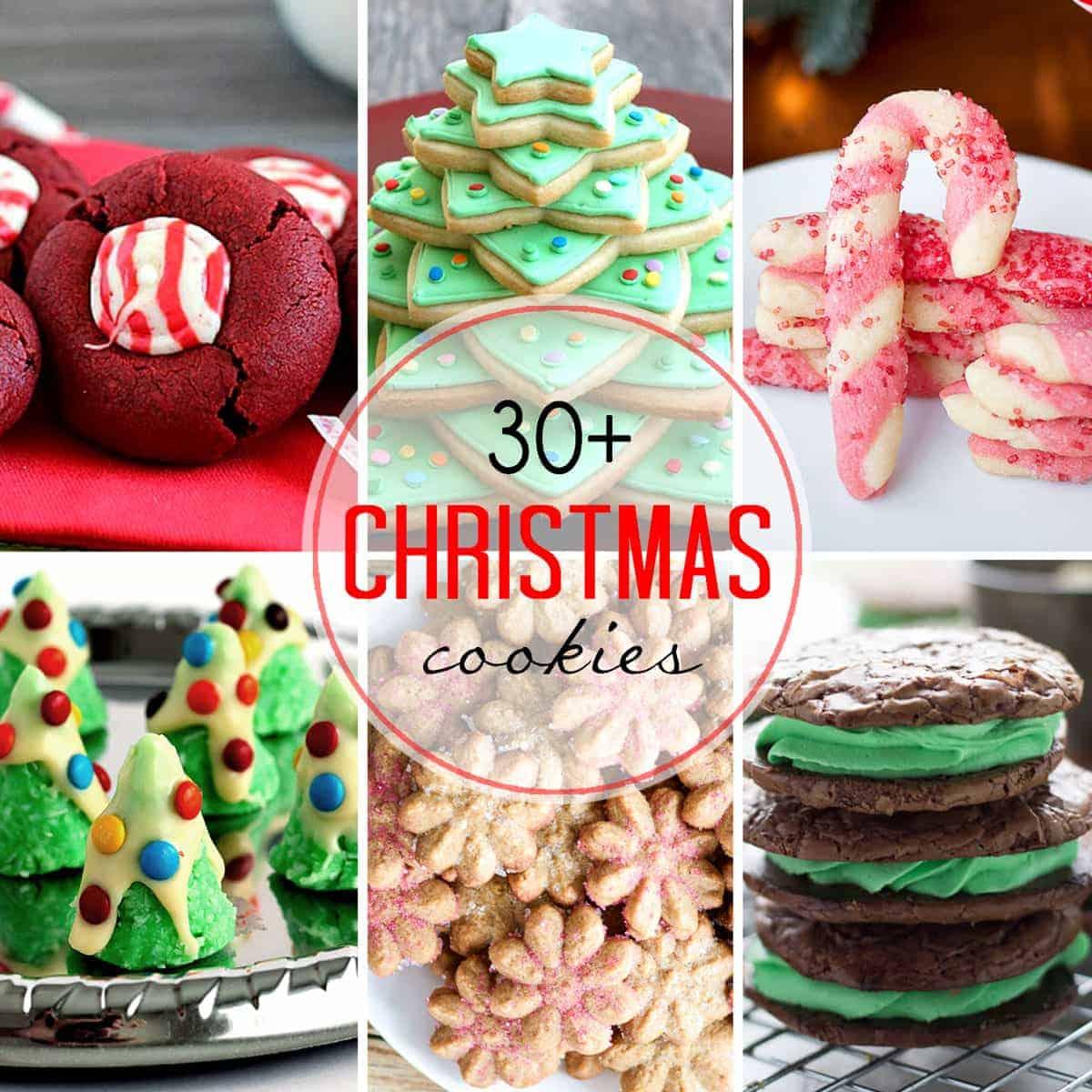 30 Christmas Cookies Self Proclaimed Foodie
