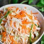 how to make traditional Curtido cabbage slaw