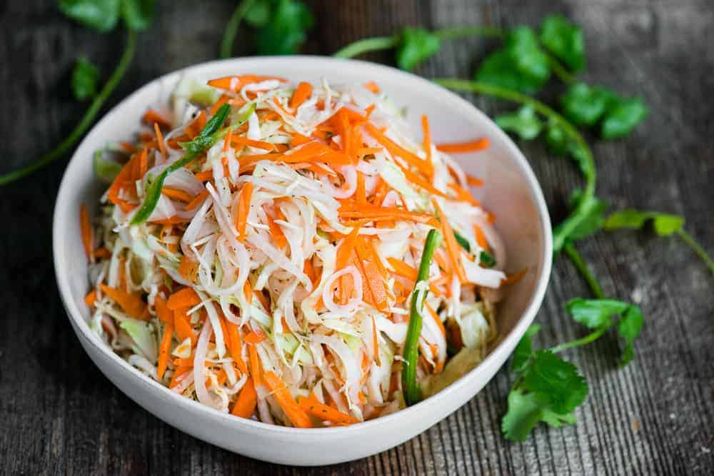 Curtido Cabbage Slaw Recipe | Self Proclaimed Foodie