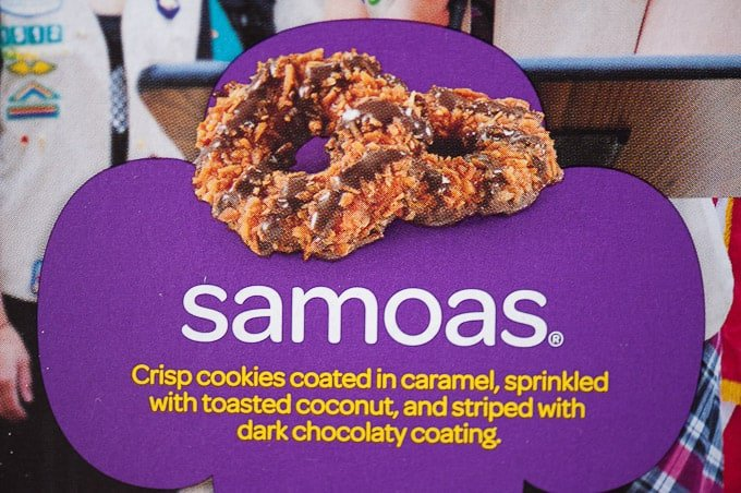 Image result for samoas girl scout cookies