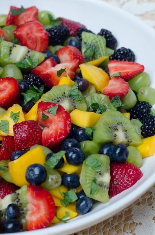 10 Recipes Perfect for Mother's Day | Fruit Salad with Sweet Lime Dressing