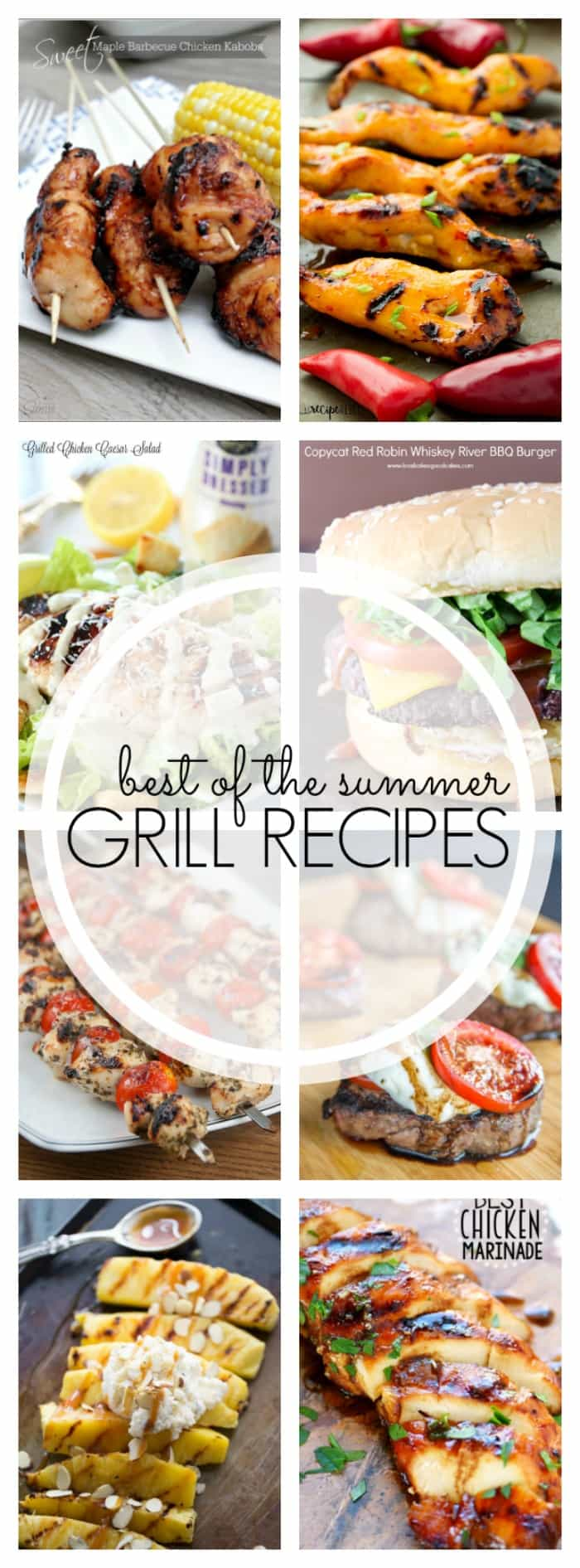 One of the things I look forward to most every summer is cooking outside on the BBQ, so make your backyard your kitchen with these Summer Grilling Recipes!