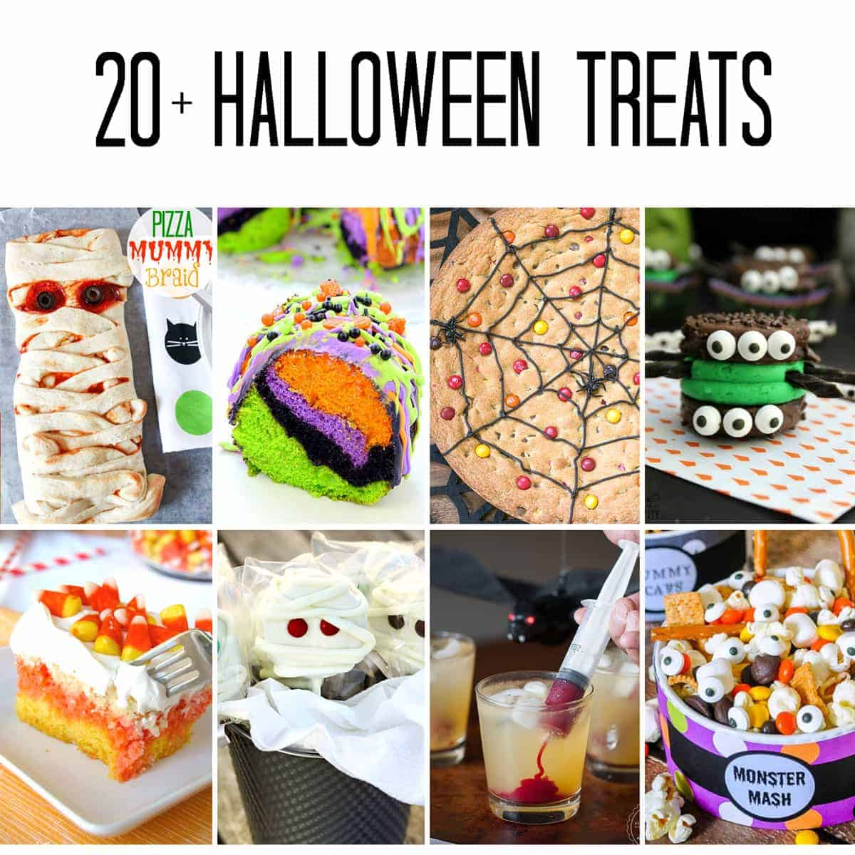 20+ halloween treats | self proclaimed foodie