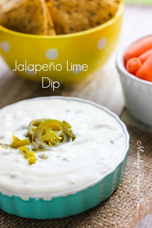 Jalapeno-Lime-Dip