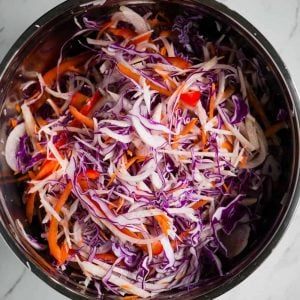 vegetables for jicama slaw recipe