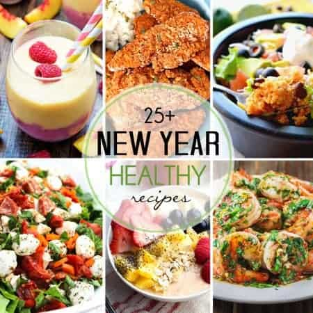 After enjoying non-stop treats throughout the entire holiday season, I look forward to starting the new year out right with delicious inspiration like these 25+ Healthy New Year Recipes.
