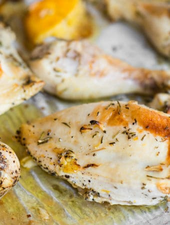 Oven Baked Rosemary Chicken recipe
