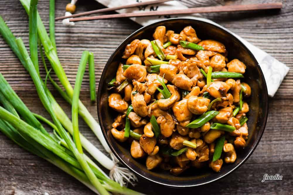 How to make homemade Cashew Chicken recipe