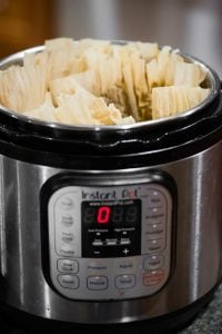 how to make tamales in the instant pot