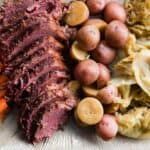 Corned Beef and Cabbage in the Instant Pot