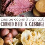 How to make Pressure Cooker Corned Beef and Cabbage in the Instant Pot.