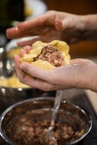how to make homemade pupusas with masa harina and beans