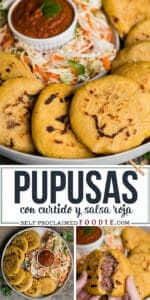 how to make authentic pupusas with curtido and salsa roja
