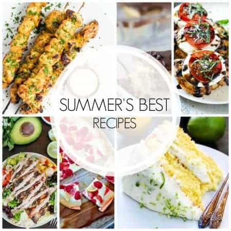 The Best Recipes of Summer