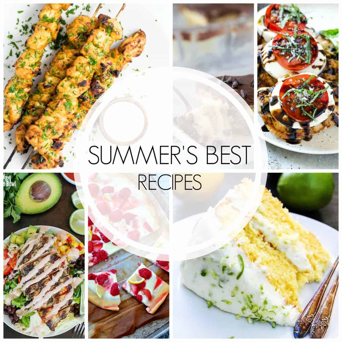 Soon, we will be spending hours in the kitchen cooking recipes for the months of holidays, but its not too late to still enjoy The Best Recipes of Summer!