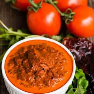 homemade salsa roja