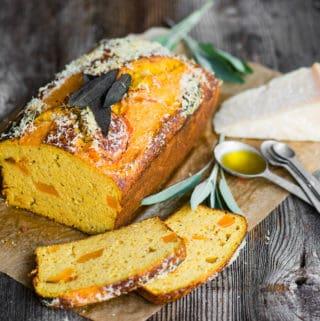 Savory Parmigiano Reggiano DOP Butternut Squash Cake