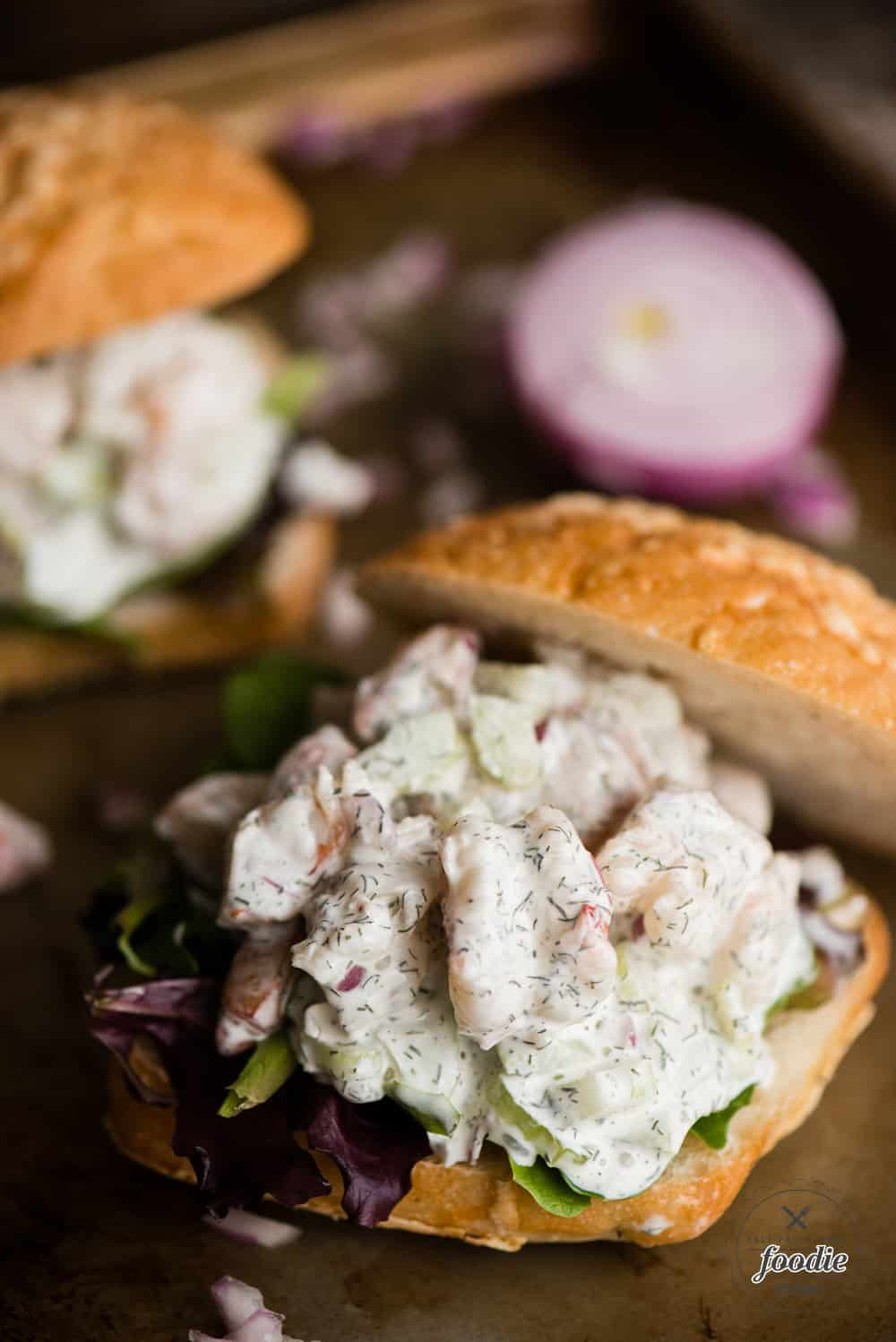 Shrimp Salad Sandwich Recipe Self Proclaimed Foodie