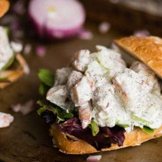 How to make a Shrimp Salad sandwich