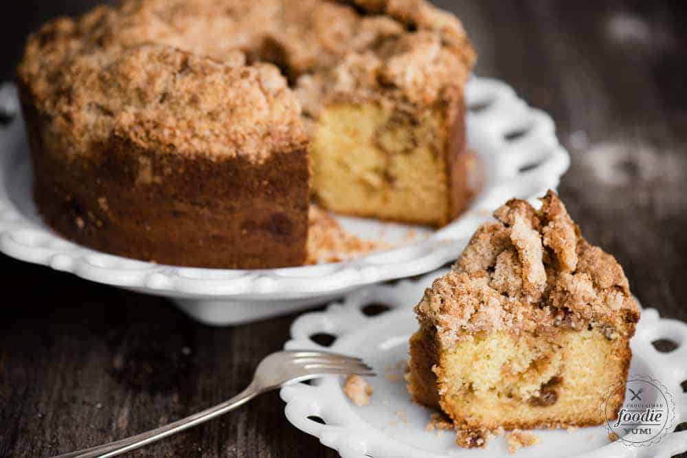 Sour Cream Coffee Cake Self Proclaimed Foodie