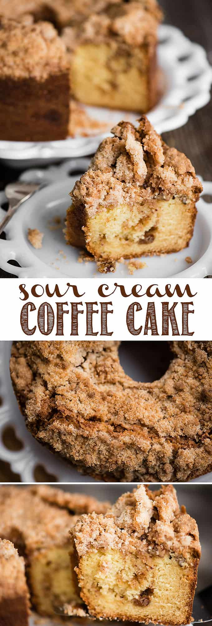 Coffee Bundt Cake With Coffee In The Middle