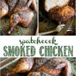 how to make spatchcock smoked chicken with dry rub