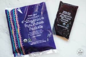 organic acai puree packets