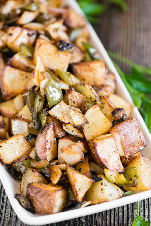 Air Fryer Breakfast Potatoes