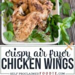 the best crispy Air Fryer Chicken Wings