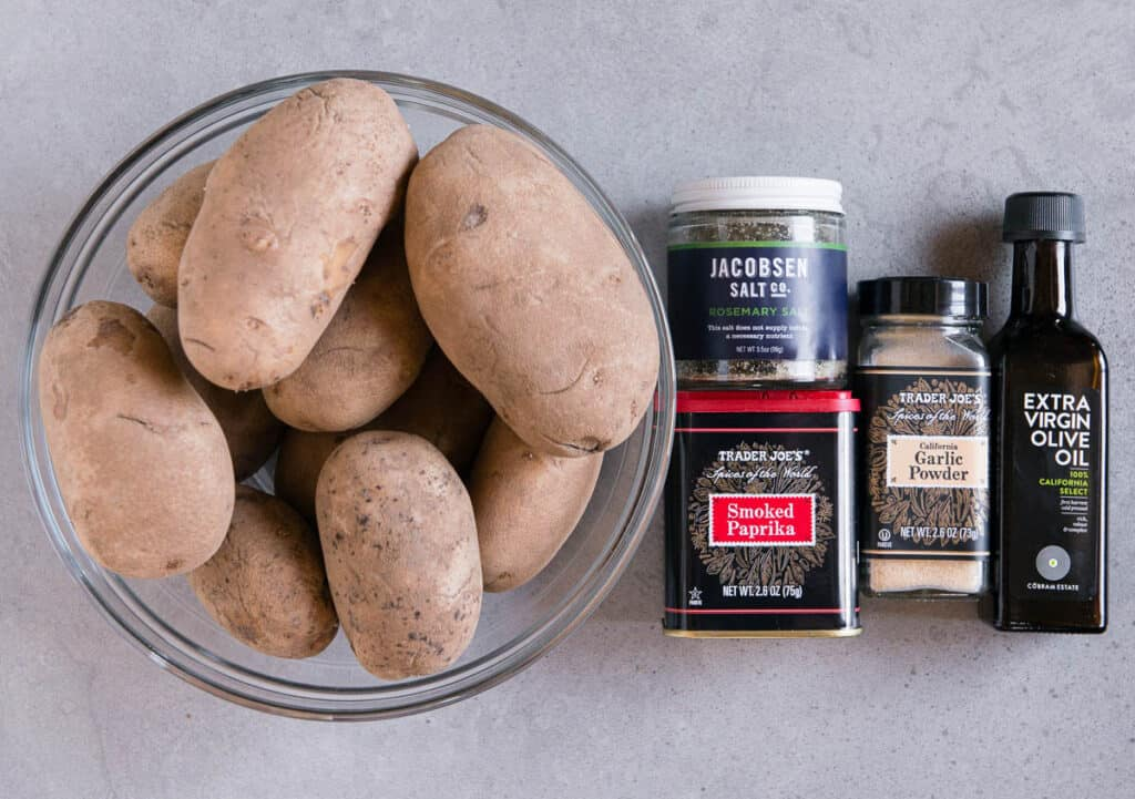ingredients needed to make Air Fryer French Fries