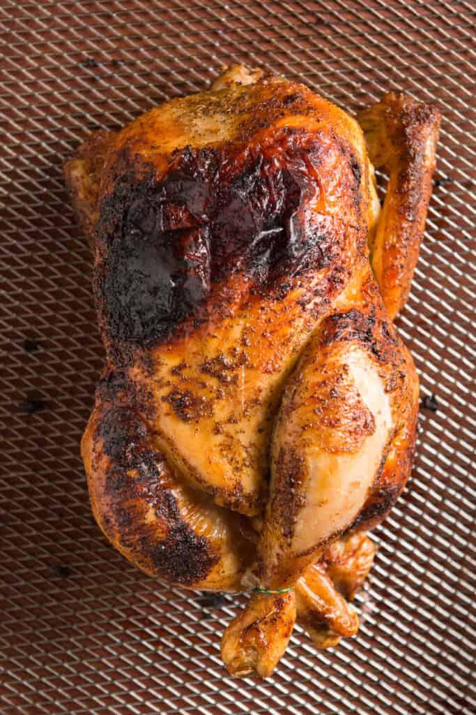 air fried chole chicken