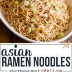 how to make easy asian ramen noodles