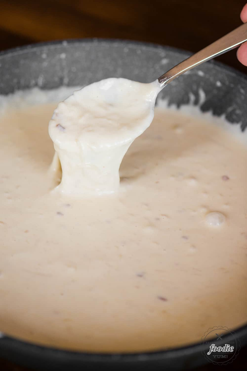 Homemade alfredo sauce without cream cheese