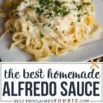 the best homemade alfredo sauce recipe