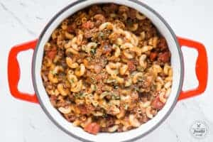 one pot recipe for easy american goulash