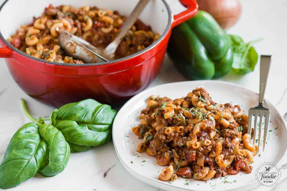 Granny's Classic Amercian Goulash Recipe | Self Proclaimed ...
