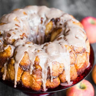 homemade apple monkey bread