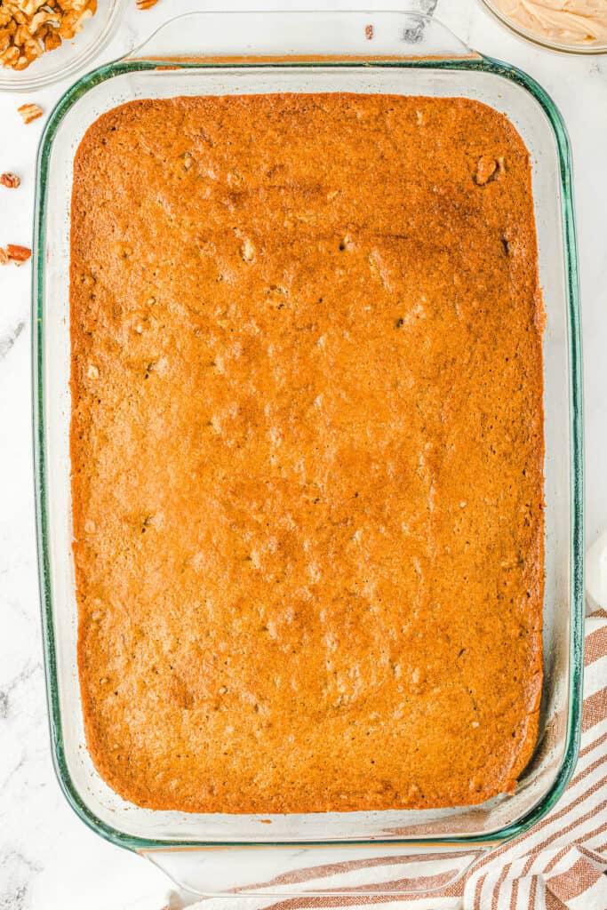 baked Applesauce Cake