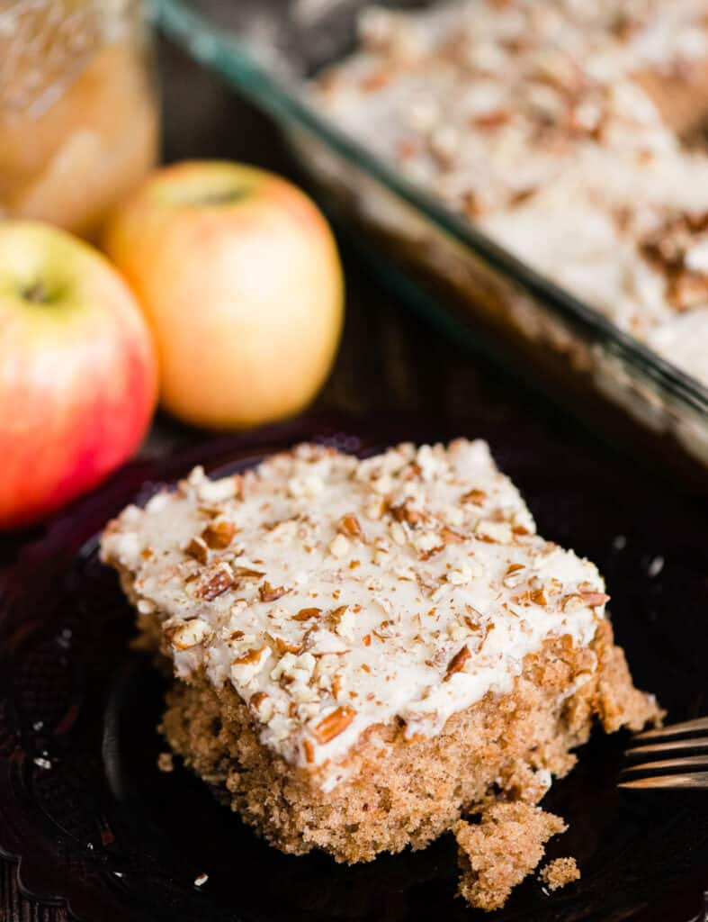 frosted Applesauce Cake