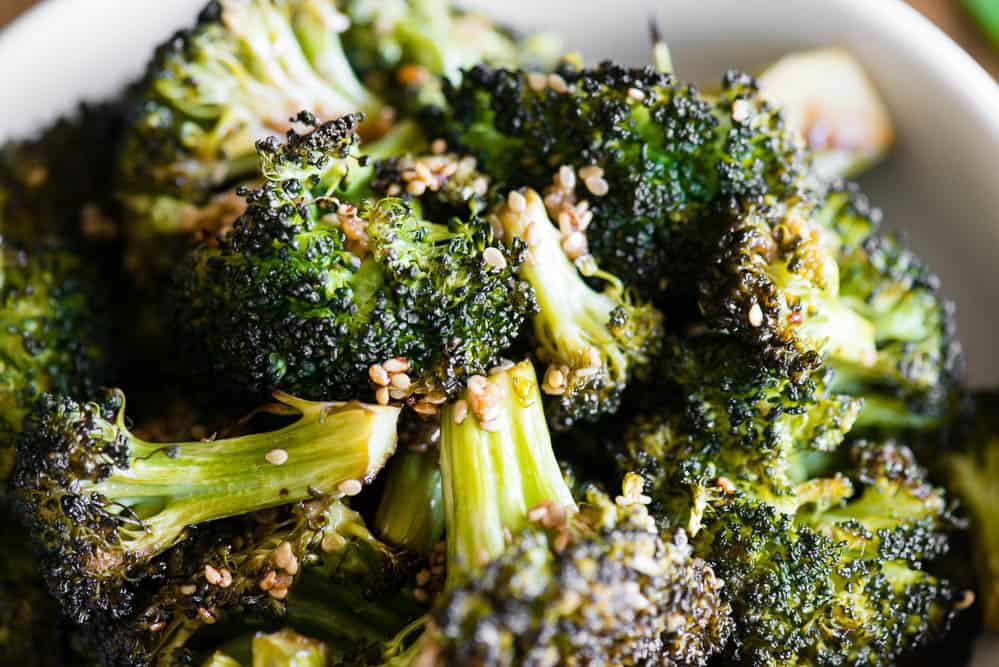 asian roasted broccoli