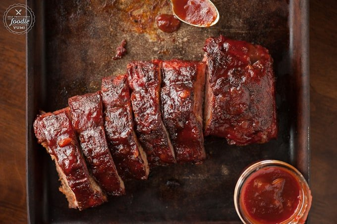 Enjoy summer grilling at its best with these Babyback Ribs with BOOM Sauce. The quick & easy homemade BBQ sauce has a secret ingredient with a real kick!