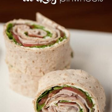 slices of turkey roll up