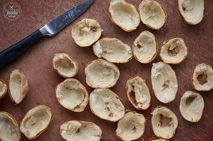 Bacon Jalapeño Twice Baked Potato Bites | Self Proclaimed Foodie