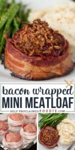 bacon wrapped mini meatloaf recipe