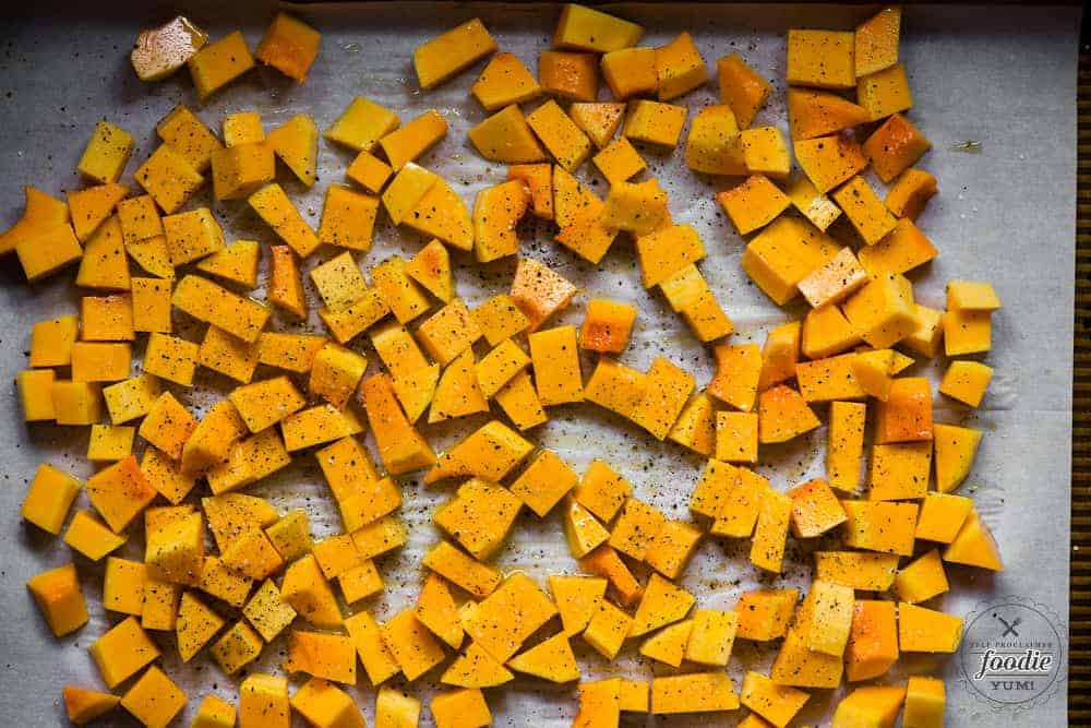 healhty baked butternut squash