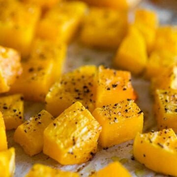 easy healthy baked butternut squash
