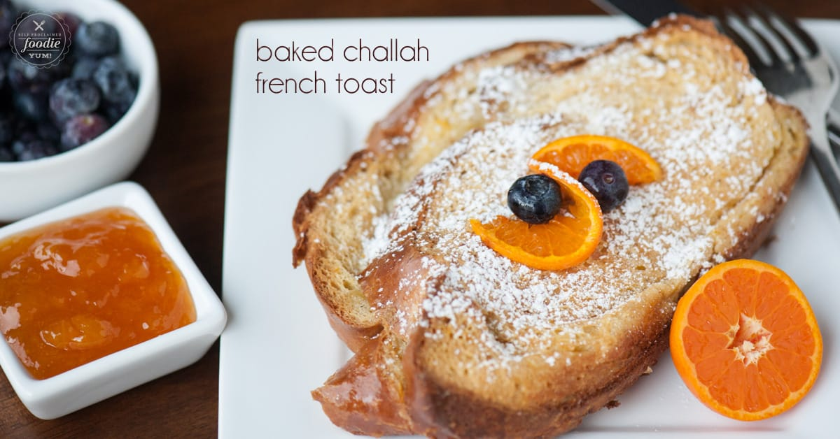 how to make french toast with challah bread