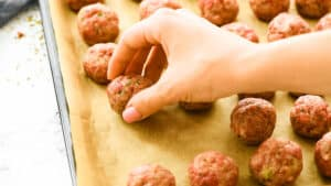 how to bake italian meatballs